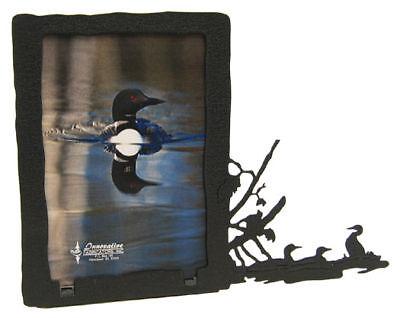 Loons 3x5v Black Metal Picture Frame