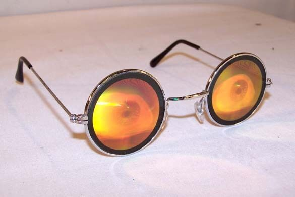 a237889321 EYE BALL HOLOGRAM SUNGLASSES novelty poker glasses holographic 3d eyes  halloween