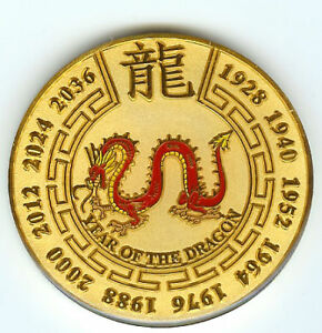 gold year of the dragon chinese zodiac poker guard card ebay. Black Bedroom Furniture Sets. Home Design Ideas