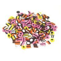 50 Todas Clases Caña Rodajas Casa De Muñecas Minis Arte Uñas -  - ebay.es