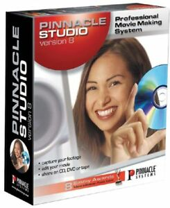 PINNACLE-STUDIO-V8-Capture-Edit-Burn-Video-2cd-039-s-NEW