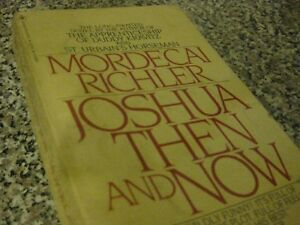 joshua then and now book review
