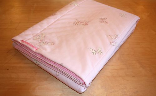 Laura Ashley Bella Butterfly Cot Quilted Bedspread