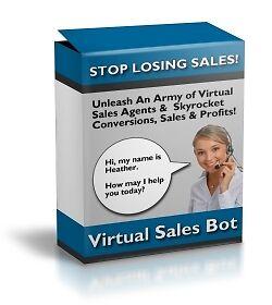 Virtual Sales Bot Script on CD