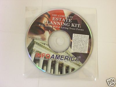 Info America The Complete Estate Planning Kit