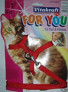Katzengeschirr-mit-Leine-Vitakraft-stufenlos-verstellb