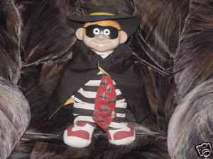15-HAMBURGLAR-Plush-Doll-W-Vinyl-Head-1999-McDonalds