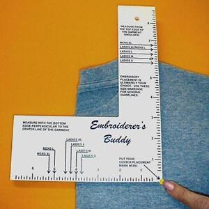 The Embroiderer39s Buddy Machine Embroidery Aid Ruler By