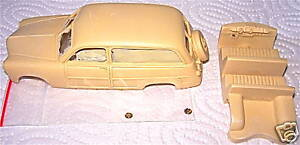 1:43 Provence Moulage Ford 1949 Station Woody Resin KIT