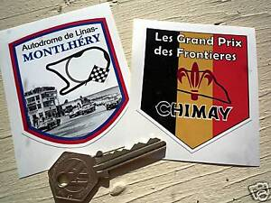 MONTLHERY-CHIMAY-French-Belgian-race-circuit-stickers