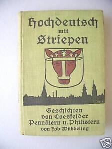 Hochdeutsch-mit-Striepen-1928Dichtung-Wahrheit-Coesfeld