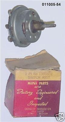 Headlight Switch Desoto 1949 - 6cyl