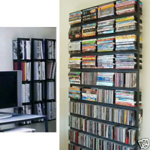 2new ikea cd dvd holder racks wall shelf media storage rack ebay. Black Bedroom Furniture Sets. Home Design Ideas