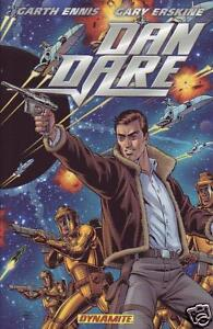 Dan Dare Omnibus Garth Ennis Gary Erskine  trade paperback