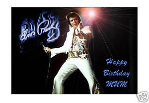 Personalised-A5-ELVIS-PRESLEY-Card-Mum-Dad-Uncle-Friend-60-70-Grandad-Nan