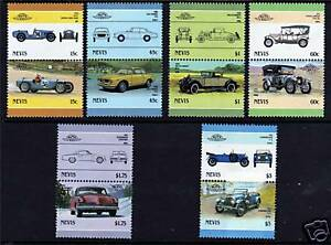 Nevis-1986-Automobiles-SG-411-22-MNH