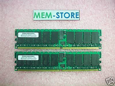 39m5815 4gb (2x2gb) Pc2-3200 Registered Single-rank Memory Kit Ibm Xseries