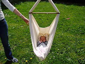 Baby-Cradle-Hammock-First-bassinet-or-cot-for-baby-NEW