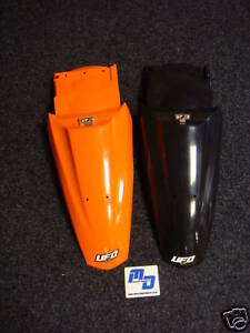 UFO KTM600 SMC/640 LC4 SUPERMOTO 04-07 REAR FENDER 3016