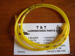 2 Ft Fuel Line ID 3/32  OD 3/16 fit Chainsaws Trimmers