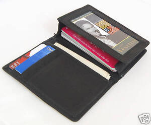 Deluxe-Credit-Card-Wallet-Expandable-Business-Card-Case-Leather-Billfold-Reg-25