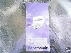 Vintage Bahamasair Boarding Ticket Jacket Ebay
