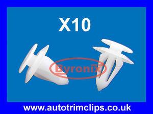 VAUXHALL-DOOR-TRIM-CARD-PANEL-CLIPS-ASTRA-CORSA-VECTRA-INTERIOR-X10