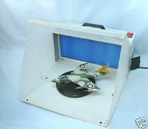 NEW-IMPROVED-VERSION-EXPO-AB500-PORTABLE-AIRBRUSH-SPRAY-BOOTH-amp-EXTRACTOR-FAN