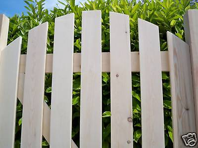 Custom Made - PLANED SMOOTH New Wooden Garden Side Pedestrian Gates - *BARGAIN*