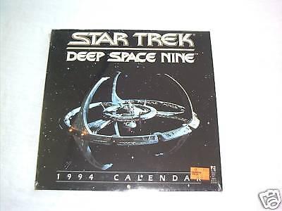 Star Trek Deep Space Nine 1994 Calendar NEW