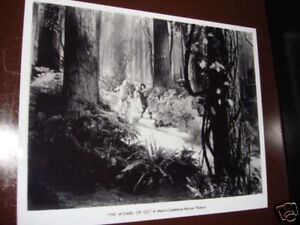 Wizard-of-Oz-Forest-Cast-Shot-Rare-8x10-Photo-1939