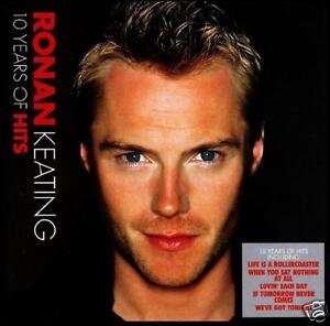 RONAN-KEATING-10-YEARS-HITS-CD-X-FACTOR-BOYZONE-GREATEST-BEST-OF-NEW
