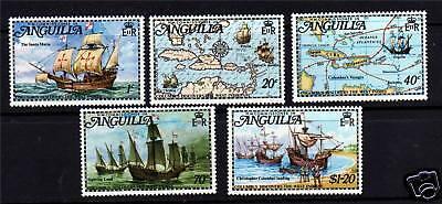 Anguilla 1973 Columbus Discovery SG159/63 MNH