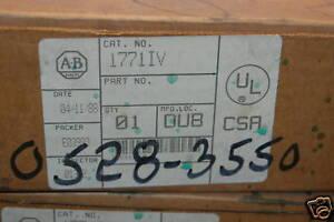 Alllen-Bradley-1771-IB-12-24v-DC-input-module-New