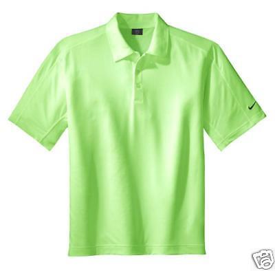 Nike Golf Mens Size X-large Sphere Dri-fit Polo Sport Shirt Xl Green $75
