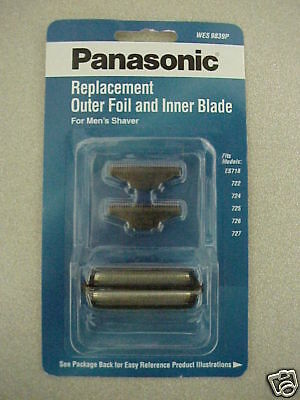 Panasonic Wes 9839 Repl Outer Foil And Inner Blade