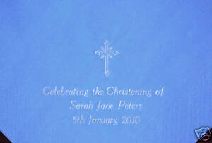 150-Personalised-Christening-Baptism-Luxury-Napkins-with-3-lines-of-text-Cross