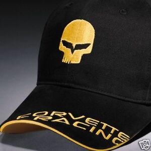Bad Boy Corvette Racing Jake C6 Logo Hat Cap Black Buds