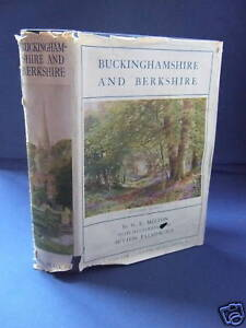 1929-Buckinghamshire-and-Berkshire-HB-DJ-Colour-Plts