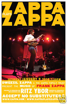 Dweezil Zappa Frank Zappa * RARE CONCERT POSTER