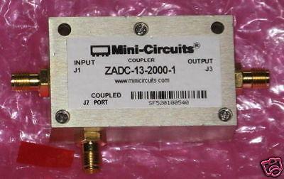 New Mini-circuits Directional Coupler Zadc-13-2000-1 -13db Sma 800 Mhz To 2 Ghz