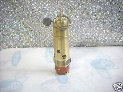 Asme Air Safety Valve Npt Size M 12 Set 125 Psi