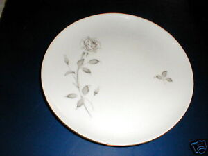 Creative Manor China #9269 SILVER ROSE Dinner Plate