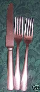 3-lot-NORTHLAND-PEER-II-ONIEDA-KNIFE-2-FORK-MEXICO-ss