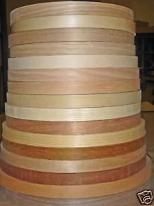 Wood-veneer-edgebanding-Alder-Anigre-Beech-Mahogany-Pecan-7-8-034-x-50-039-preglued