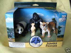 SCHLEICH-SIZE-WILD-LIFE-JUNGLE-ANIMALS-1-20-SCALE-SET-OF-4-NEW