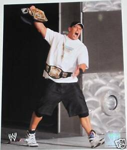 WWE-JOHN-CENA-OFFICIAL-8X10-LICENSED-GLOSSY-PHOTOFILE