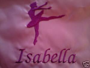 Personalizado Ballet shoe/tote/school / PE Bolso de lazo