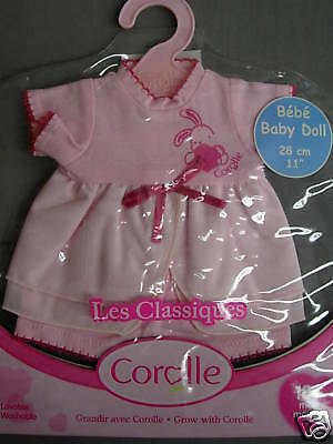 """COROLLE LES CLASSIQUES DRESS 11"""" BABY DOLL CHOU TWINS"""