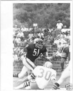 Vintage 1960's DICK BUTKUS 8x10 SPORT Press Photo Chicago Bears Dallas Cowboys